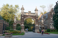 Mount Pleasant Cemetery Gates