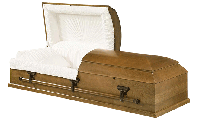 Puma Wood Casket